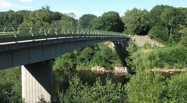 The Colliery Bridge at Severn Valley Country Park