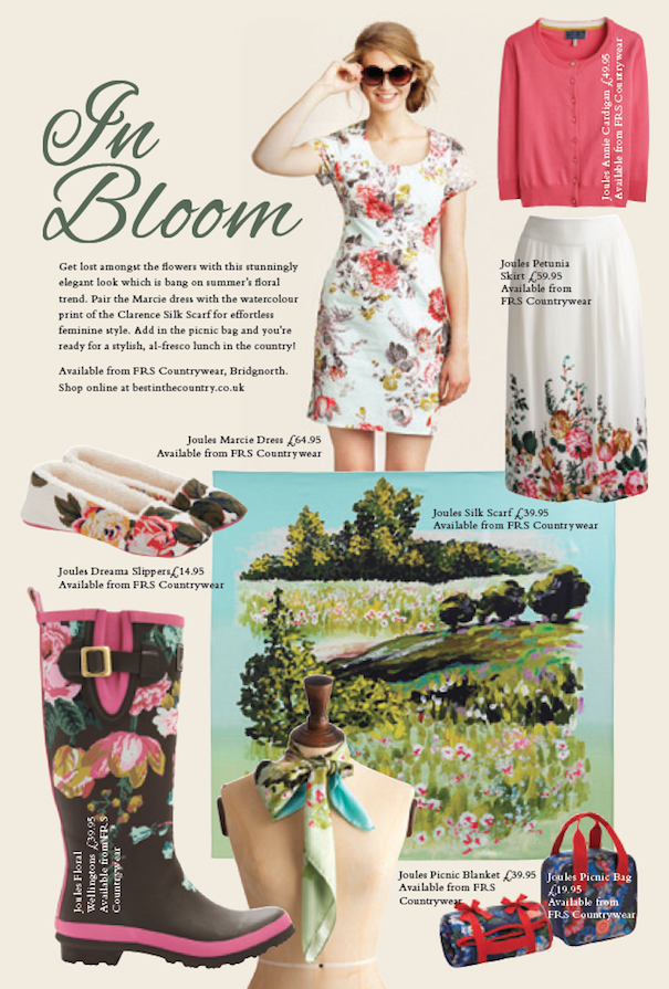 Fashion: In Bloom