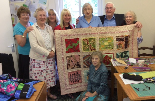 quilters linus project