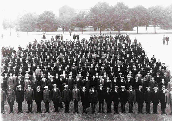 volunteers at Copthorne Barracks