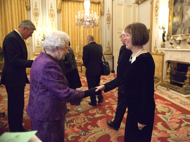 Anna with the Queen