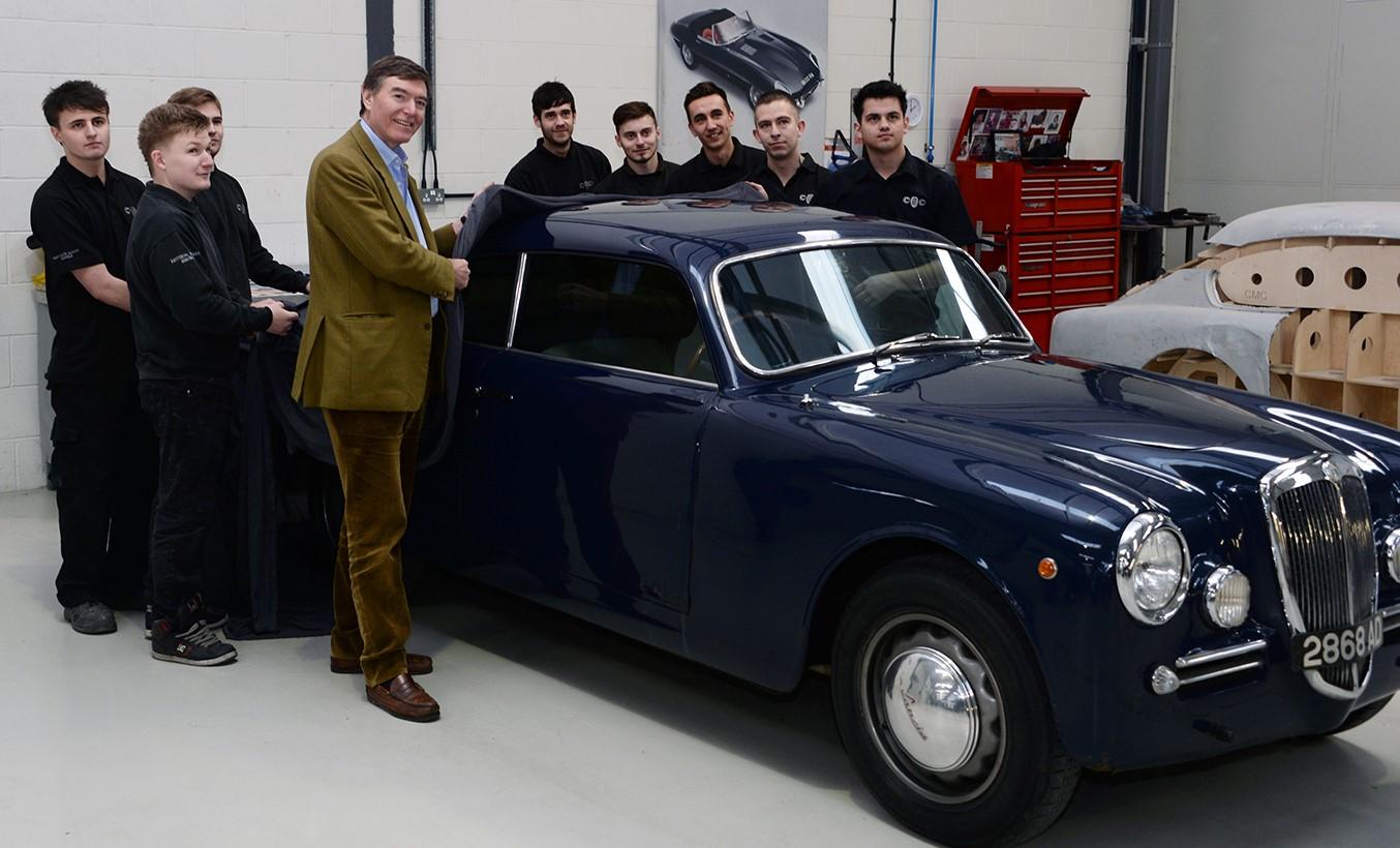 Apprentices classic car