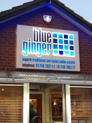 Blue Ginger