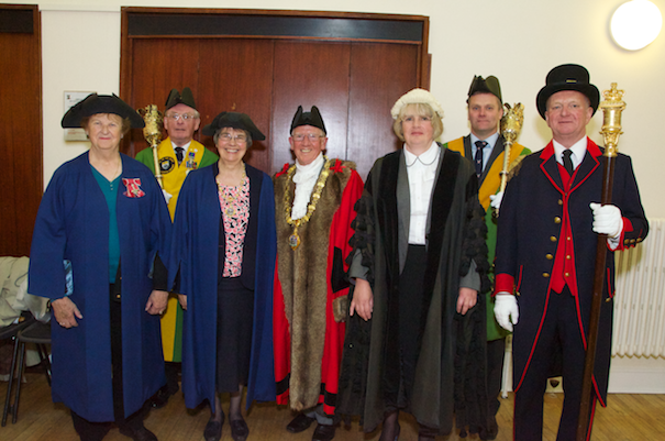 Cllr Ray Gill is sworn in as Bridgnorth's new Mayor