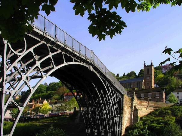 Iron Bridge sunny day (med)