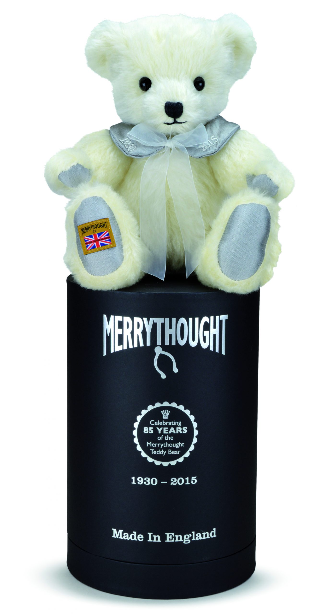Merrythought 85th anniversary limited edition bear