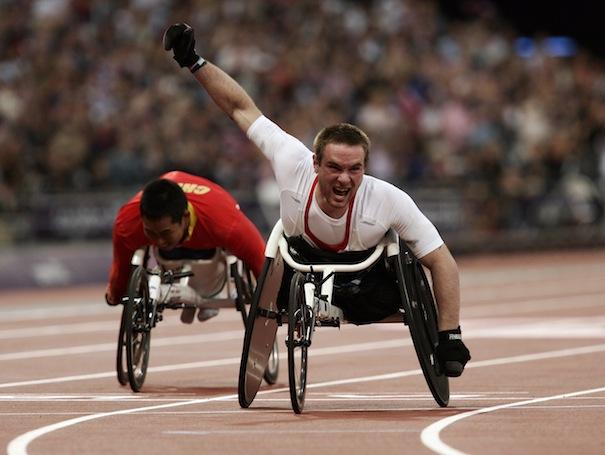 Paralympics London 2012 - ParalympicsGB  - Athletics