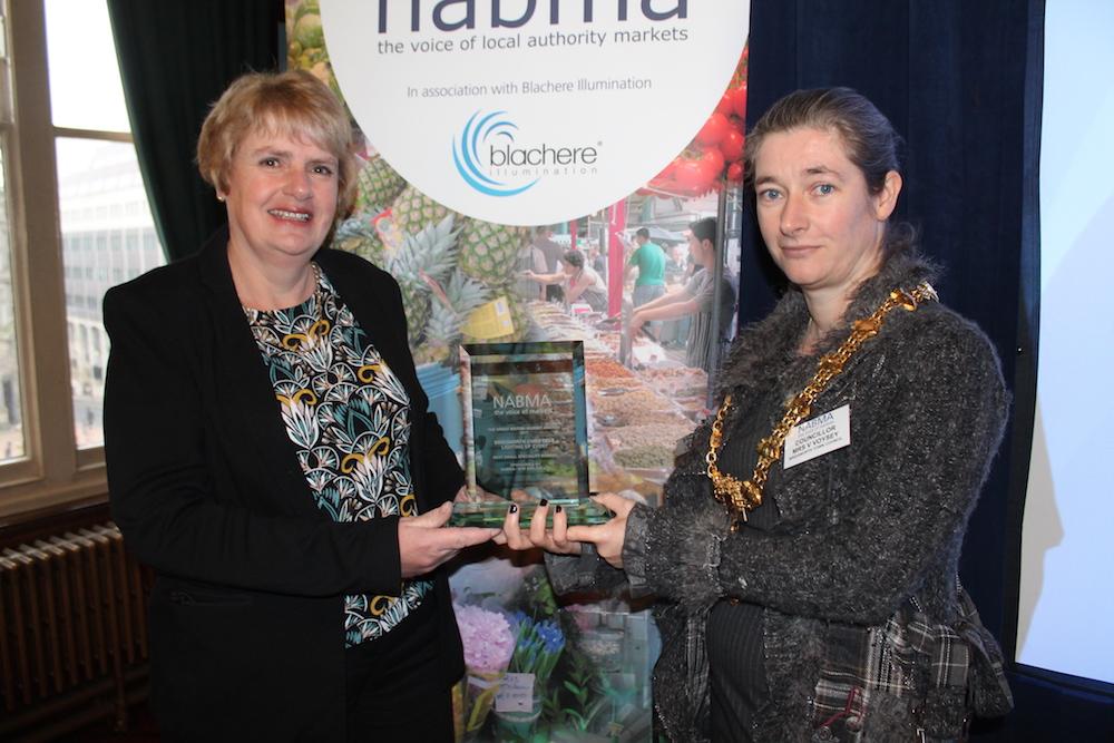 Special Market award - anne wilson & Vanessa Voysey