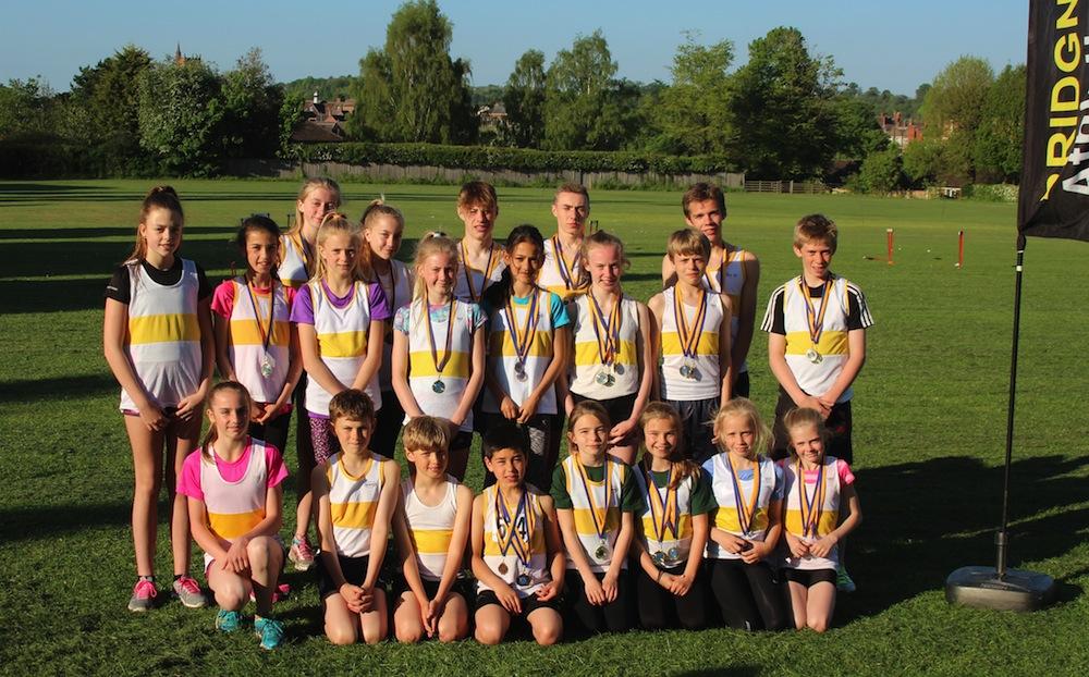 Team medal winners