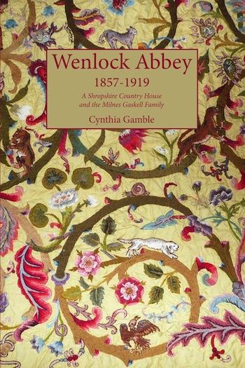 Wenlock Abbey book front cover WA jpg 22 July 2015