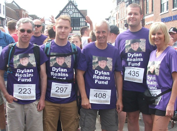 dylan reains2 Bridgnorth Walk Team
