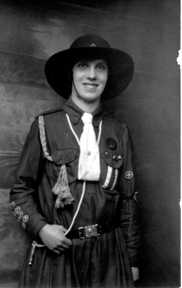 local feature Janet Baker c1920  one of the first Bridgnorth Guides