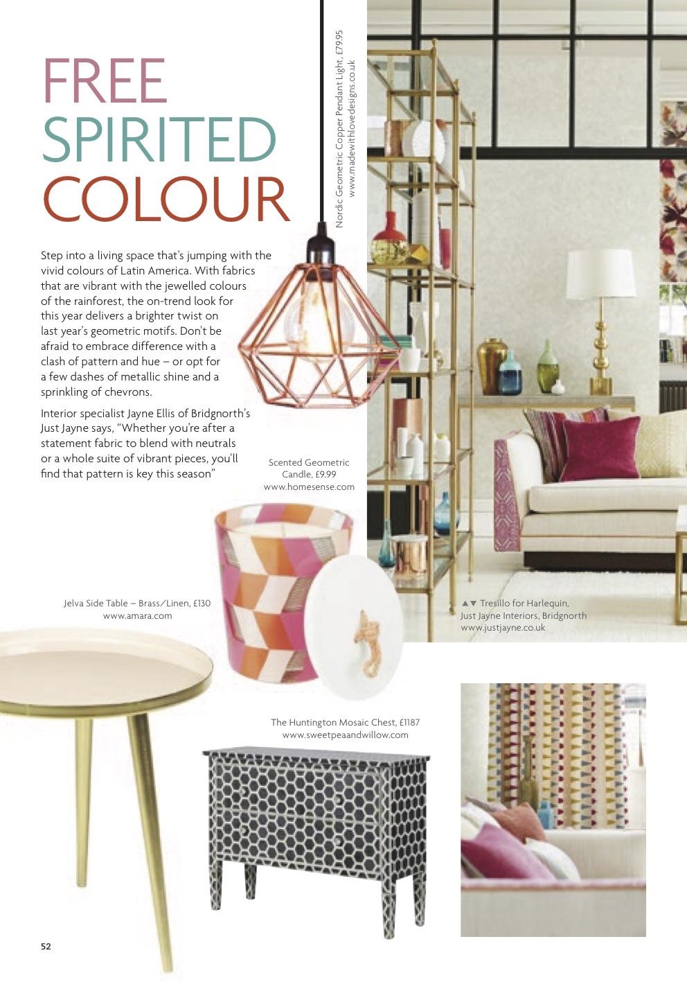 fashion and lifestyle - free spirited colour
