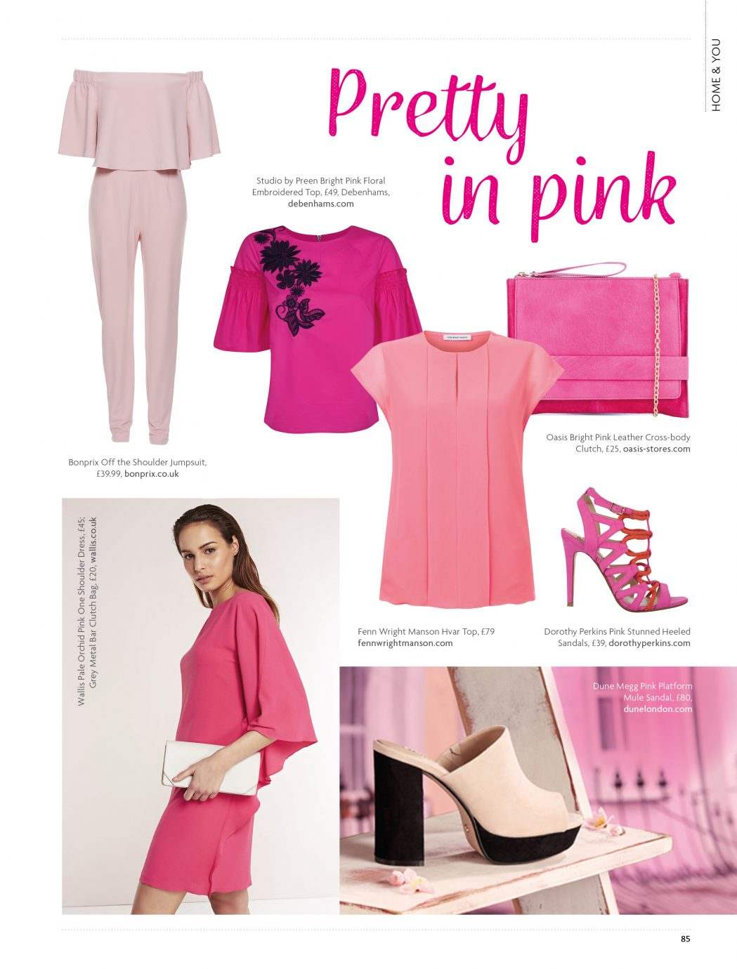 Pretty in pink...