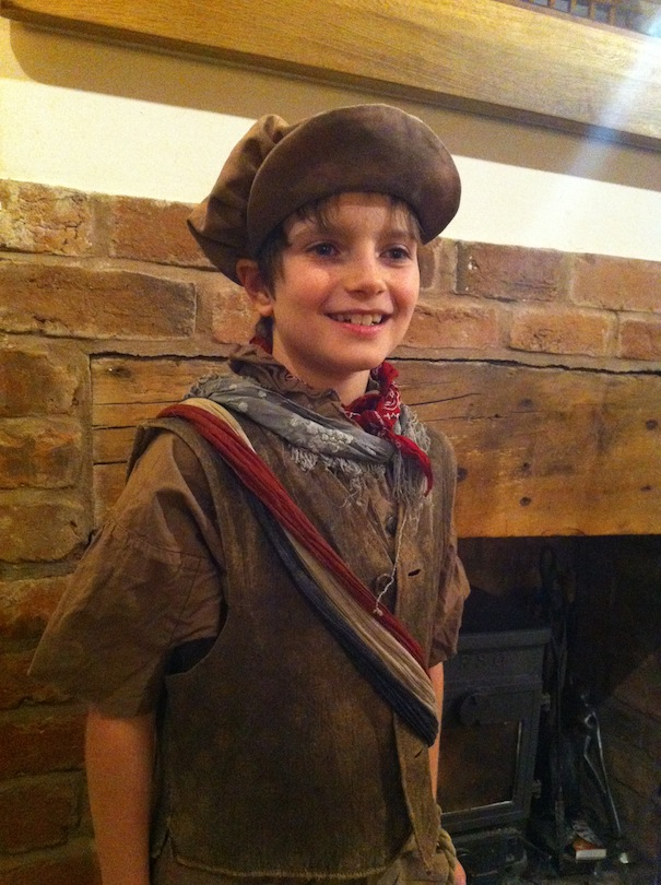 schools - brockton Noah as Gavroche