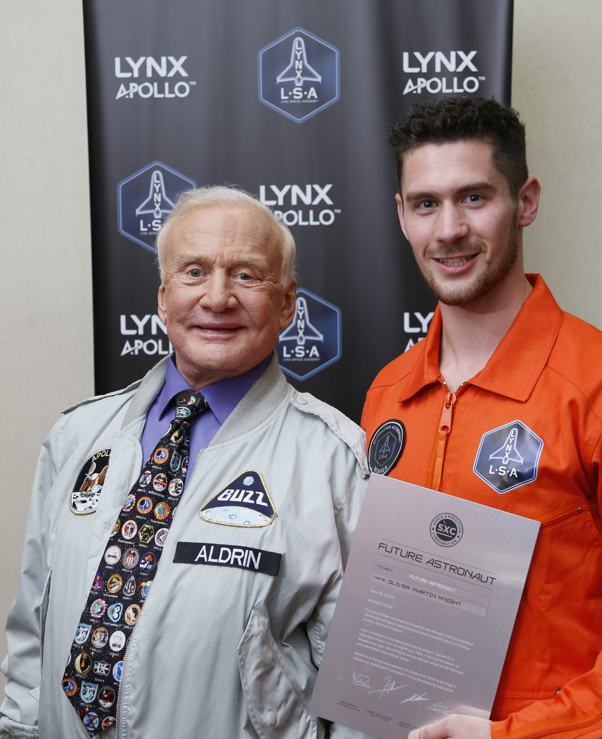 spaceman - with Buzz Aldrin